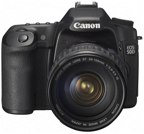 How would you change Canon's EOS 50D?