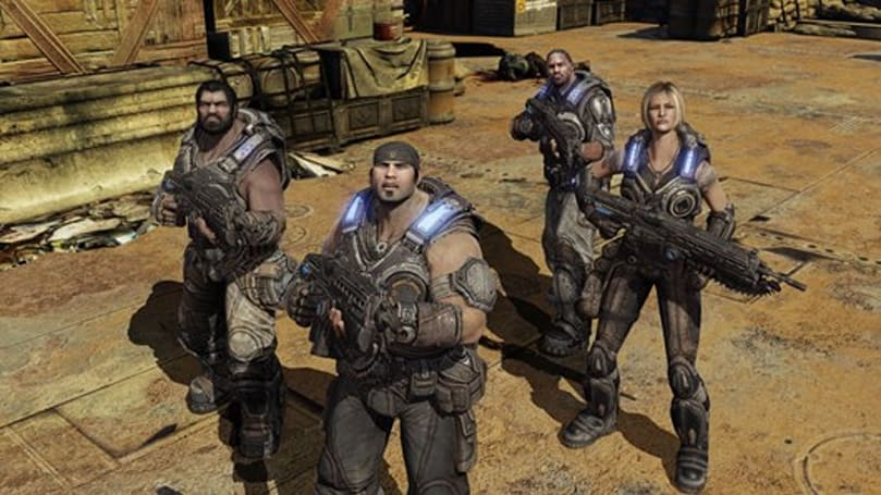 Gears of War 3 campaign preview: 'End of the world, baby'