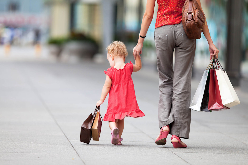 Do you spend more money on your kids' clothes than you do on your own?