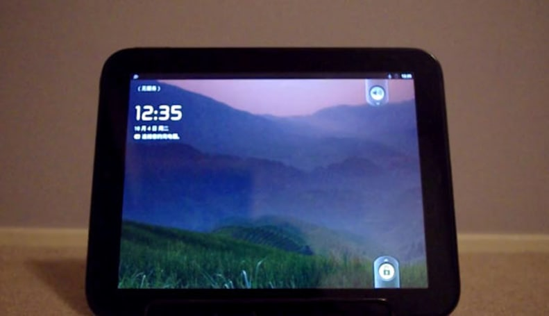 Android on HP TouchPad: yes, there's an app for that (video)