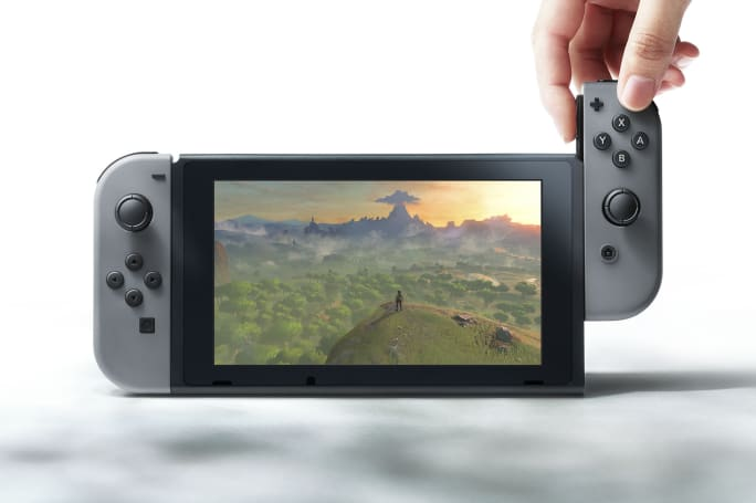 The Nintendo Switch reportedly has a multitouch screen