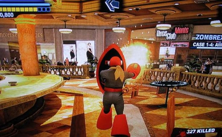 Frank West can be Proto Man in Dead Rising 2: Off the Record