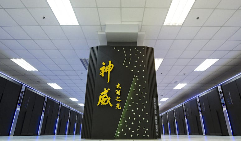 China made the world's fastest supercomputer using its own chips