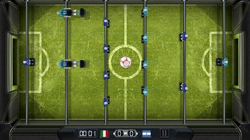 Take your foosball skills global with Foosball Cup World