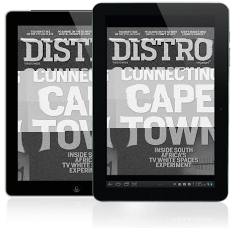 Distro Issue 103: Inside South Africa's TV white spaces experiment