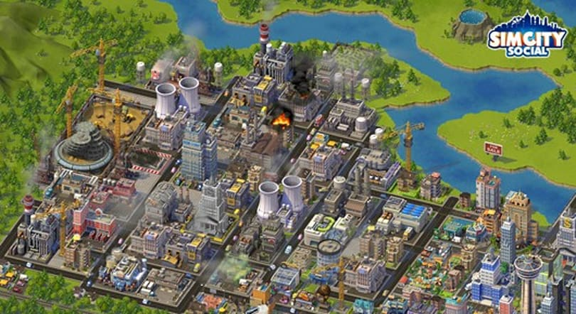 SimCity Social has over 10 million monthly active users
