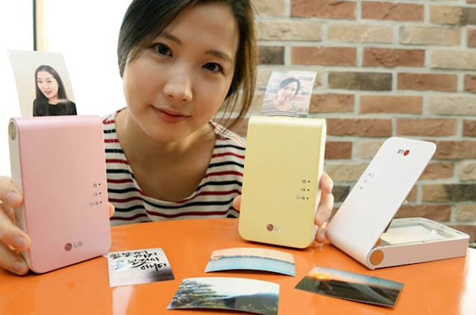 LG's new Pocket Photo 2 printer is incrementally smaller, better