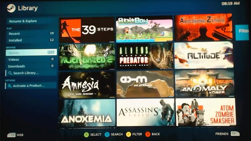 Watch homebrew code run Steam games on the PS4