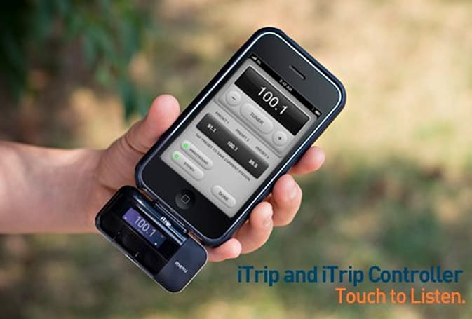 Griffin iTrip now features iPhone OS 3.0 integration