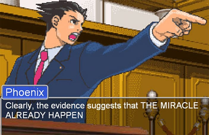 Hold it! Capcom now accepting pleas for the next Phoenix Wright