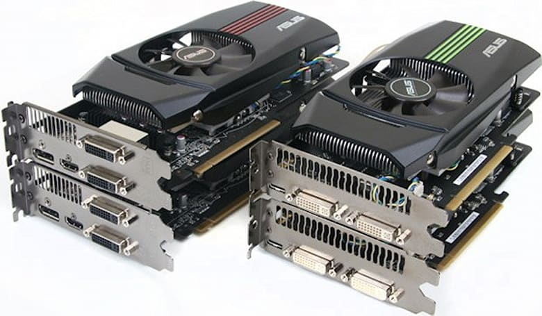 NVIDIA GeForce GTX 580 and AMD Radeon HD 6870 square off in dual-card showdown