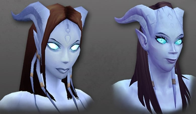 World of Warcraft shows off the 'redesigned' female Draenei