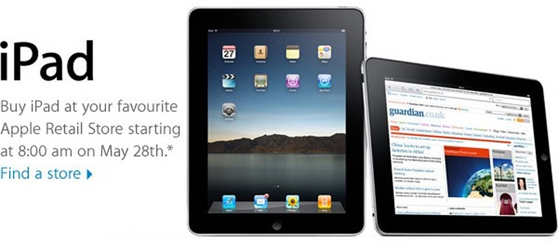 Apple will open international Stores early for iPad launch this Friday, iBooks app available now