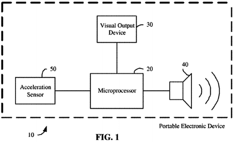 Apple granted patent for accelerometer-aided theft-detection system