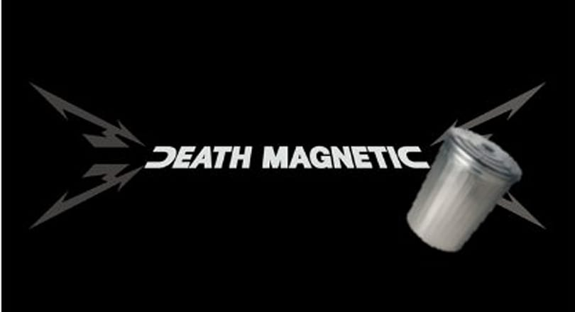 Metallica's 'Death Magnetic' album rips up GHIII