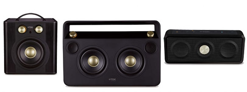 TDK introduces new wireless Boombox and two new weatherproof speakers