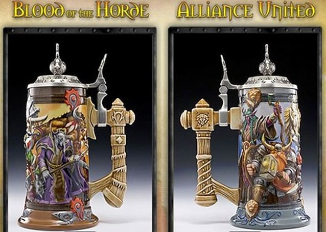 3 Point Entertainment releases Horde and Alliance beer steins