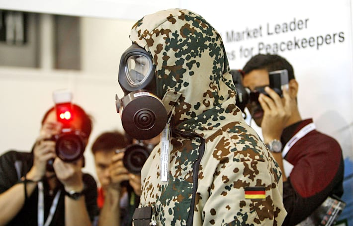 The Department of Defense needs help designing a biohazard suit