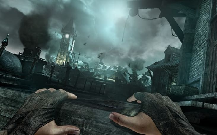 Be an old-school creep in Thief