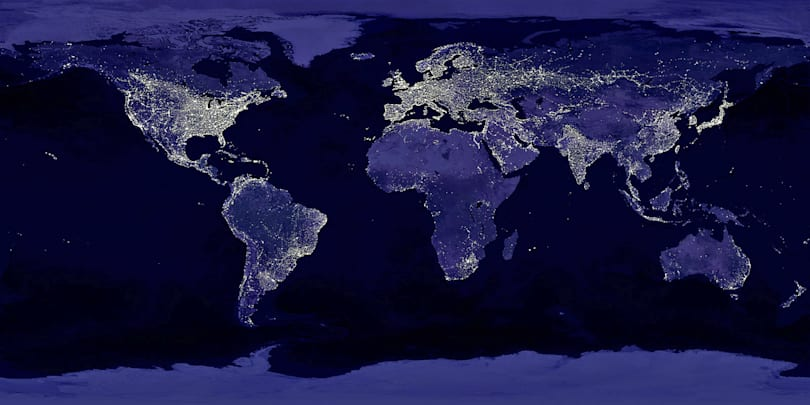 Satellite imagery can be used to predict regions of poverty