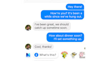 Facebook Messenger test hints at a bigger role for AI