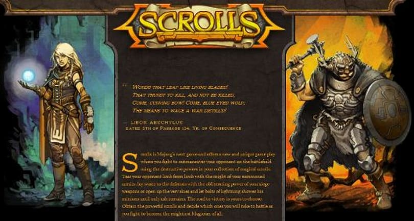 Mojang can't use 'Scrolls' in any sequels to 'Scrolls,' lawsuit dictates