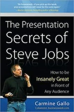 "Book Review: ""The Presentation Secrets of Steve Jobs"""