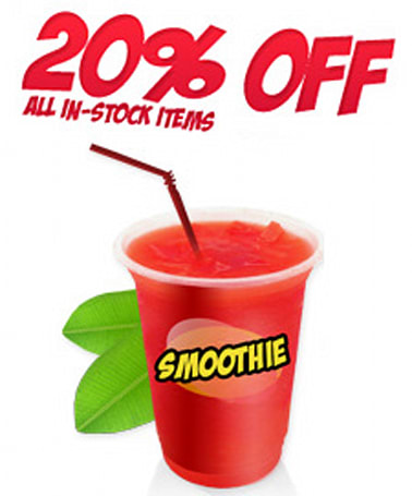 Play-Asia's summer smoothie sale