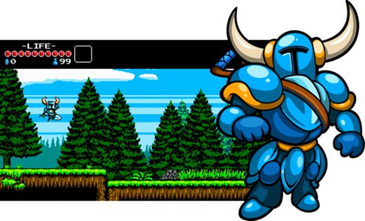 Shovel Knight coming in early 2014 - can you dig it?