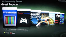 Xbox 360 TV  Calibration app pops up on Community Games