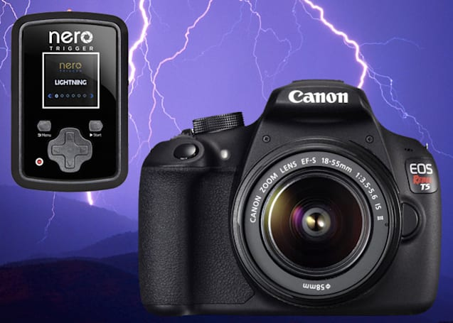Engadget giveaway: win a Canon EOS Rebel T5 and more, courtesy of NeroTrigger!