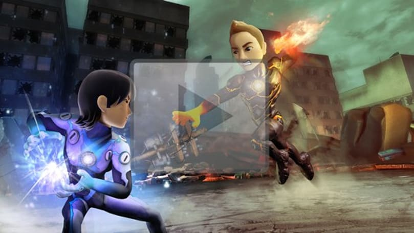 Ubisoft officially unveils Kinect superhero fighter PowerUP Heroes