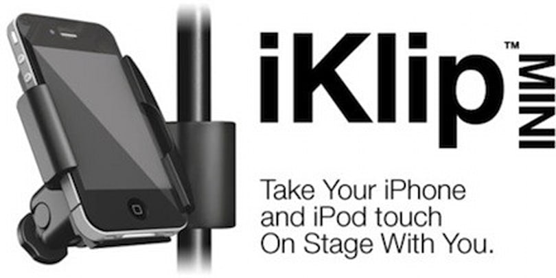 IK Multimedia's iKlip goes MINI