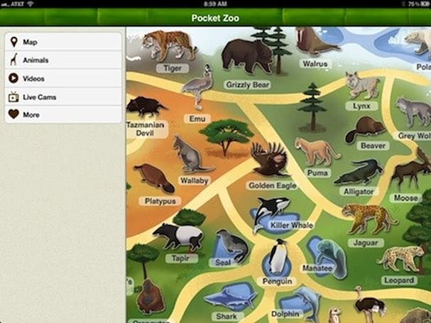 Daily iPad App: Pocket Zoo HD
