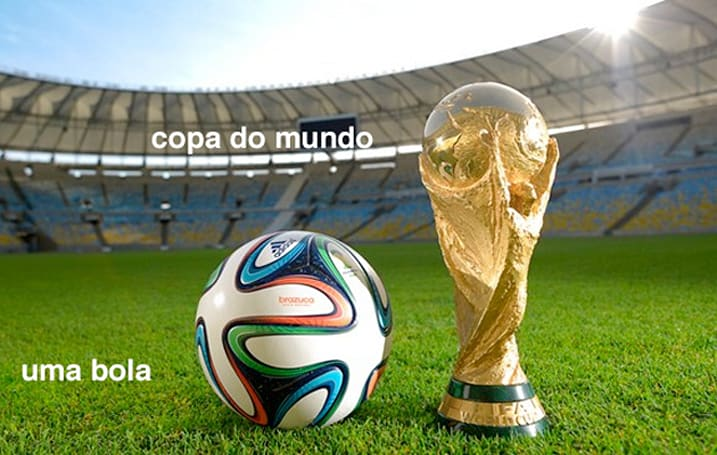 Argue about the offside rule in Portuguese with Rosetta Stone's Futebol app