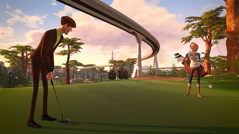 Powerstar Golf now free-to-play with full game unlock on Xbox One