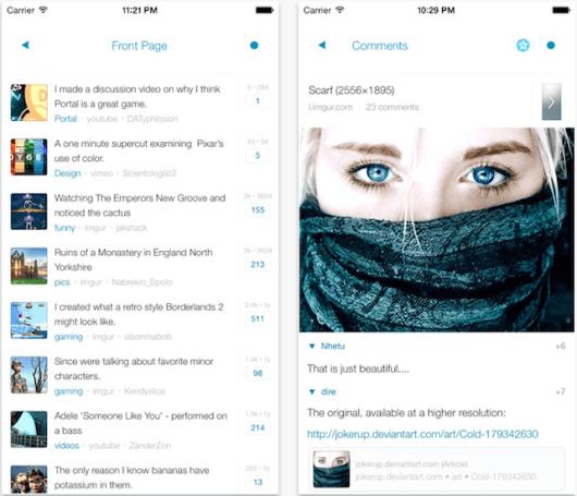 Reddit acquires popular iOS app Alien Blue