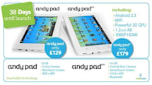 Andy Pad Pro gets detailed while Andy Pad makes film debut (video)