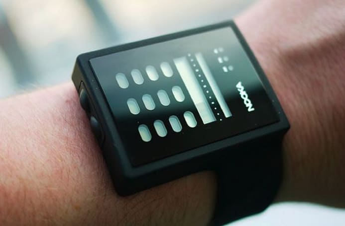 Nooka Zub Zayu watch has no hands, a name only Trevor Horn could love