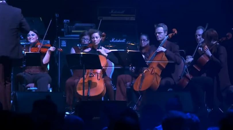 EVE soundtrack performed by 16 string symphony orchestra