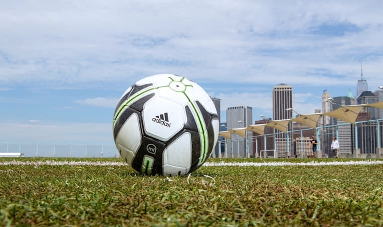 One for the future: playing with the new Adidas miCoach Smart Ball