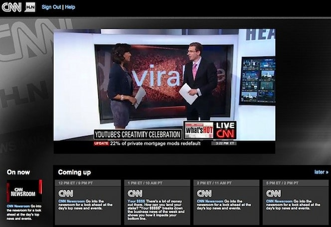 FiOS' TV Online now includes CNN and HLN