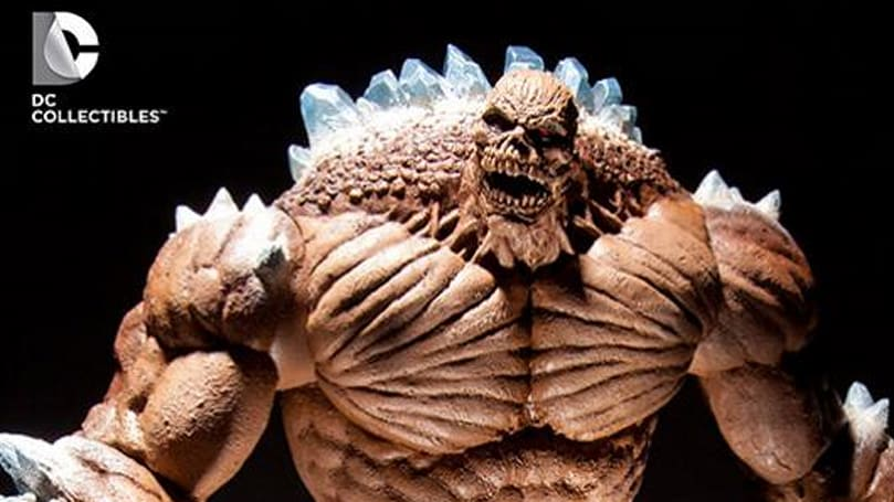 Batman: Arkham City's Clayface figure shows his ugly mug