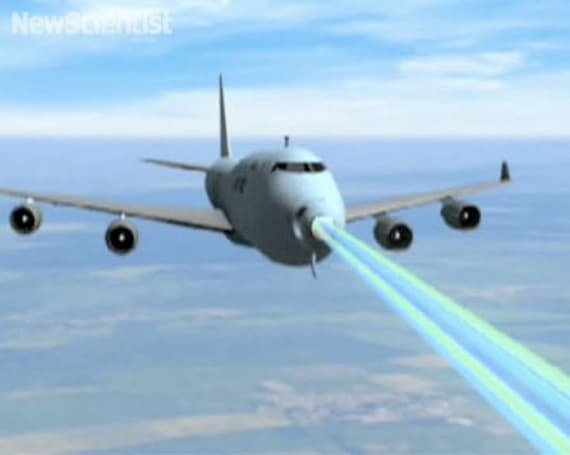 High-powered, jet-mounted laser one step closer to flying the terrifying skies