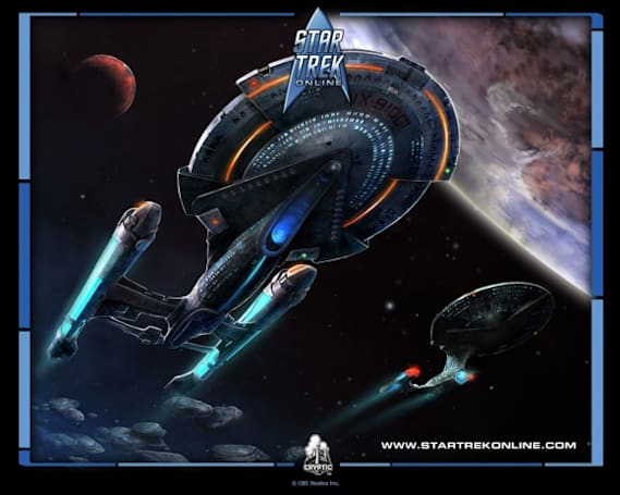 Star Trek Online preview looks at ship battles and exploration