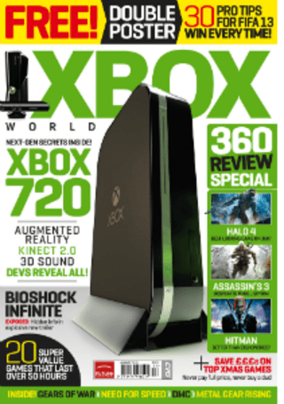 Rumor: Next-gen Xbox details spilled in penultimate issue of Xbox World