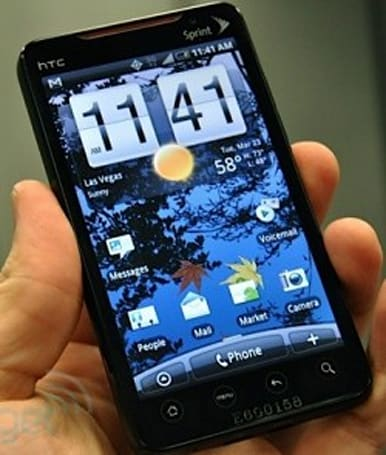 HTC EVO 4G's graphics capped at 30FPS?