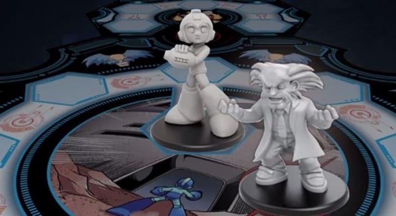 Officially licensed Mega Man board game blasts Kickstarter for mega bucks