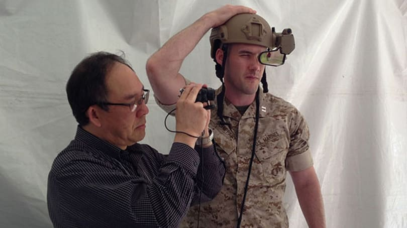 DARPA flaunts wearable display with Oculus-like head-tracking