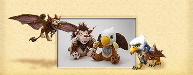 12 Days of Winter Veil Giveaway: Plush Gryphon and Plush Windrider